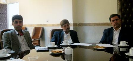 جلسه با رییس سازمان 2