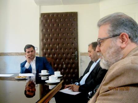 جلسه با رییس سازمان4