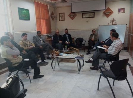 جلسه هیات مدیره انجمن با مسئولین بهداشت روان نیروهای مسلح